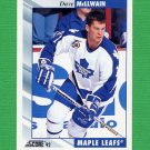 1992-93 Score Hockey #122 Dave McLlwain - Toronto Maple Leafs