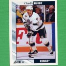 1992-93 Score Hockey #092 Charlie Huddy - Los Angeles Kings