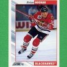 1992-93 Score Hockey #089 Brian Noonan - Chicago Blackhawks