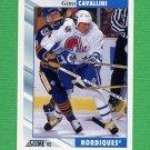1992-93 Score Hockey #042 Gino Cavallini - Quebec Nordiques