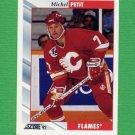 1992-93 Score Hockey #038 Michel Petit - Calgary Flames