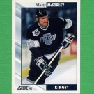 1992-93 Score Hockey #026 Marty McSorley - Los Angeles Kings