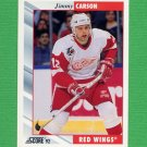 1992-93 Score Hockey #009 Jimmy Carson - Detroit Red Wings