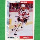 1992-93 Score Hockey #008 Claude Lemieux - New Jersey Devils