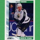1992-93 Score Hockey #007 Mark Tinordi - Minnesota North Stars