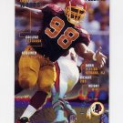 1995 Fleer Football #395 Tony Woods - Washington Redskins