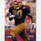 1995 Fleer Football #393 Tyronne Stowe - Seattle Seahawks