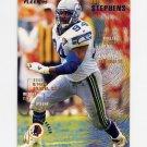 1995 Fleer Football #392 Rod Stephens - Washington Redskins