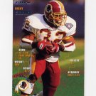 1995 Fleer Football #386 Ricky Ervins - Washington Redskins NM-M