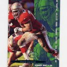 1995 Fleer Football #353 Steve Wallace - San Francisco 49ers