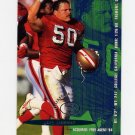 1995 Fleer Football #347 Gary Plummer - San Francisco 49ers