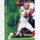 1995 Fleer Football #344 Brent Jones - San Francisco 49ers