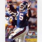1995 Fleer Football #280 Keith Hamilton - New York Giants