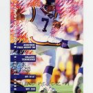 1995 Fleer Football #242 Fuad Reveiz - Minnesota Vikings