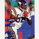 1995 Fleer Football #234 Qadry Ismail - Minnesota Vikings