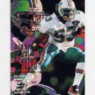 1995 Fleer Football #214 Aubrey Beavers - Miami Dolphins