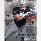 1995 Fleer Football #195 Chester McGlockton - Oakland Raiders