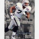 1995 Fleer Football #191 Nolan Harrison - Oakland Raiders