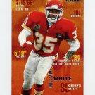 1995 Fleer Football #186 William White - Kansas City Chiefs