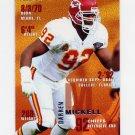 1995 Fleer Football #182 Darren Mickell - Kansas City Chiefs