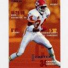 1995 Fleer Football #177 Dale Carter - Kansas City Chiefs