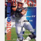 1995 Fleer Football #145 Ray Childress - Houston Oilers