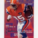 1995 Fleer Football #116 Derek Russell - Denver Broncos