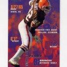 1995 Fleer Football #114 Michael Dean Perry - Denver Broncos