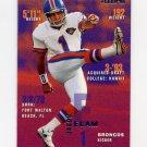 1995 Fleer Football #109 Jason Elam - Denver Broncos