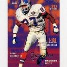 1995 Fleer Football #106 Steve Atwater - Denver Broncos