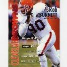 1995 Fleer Football #078 Rob Burnett - Cleveland Browns