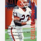 1995 Fleer Football #076 Randy Baldwin - Cleveland Browns