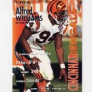 1995 Fleer Football #073 Alfred Williams - Cincinnati Bengals