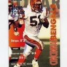 1995 Fleer Football #071 Steve Tovar - Cincinnati Bengals