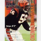1995 Fleer Football #067 Ricardo McDonald - Cincinnati Bengals