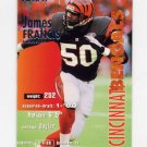 1995 Fleer Football #066 James Francis - Cincinnati Bengals