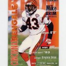 1995 Fleer Football #064 Mike Brim - Cincinnati Bengals
