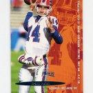 1995 Fleer Football #047 Frank Reich - Carolina Panthers