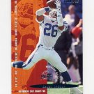 1995 Fleer Football #041 Dewell Brewer RC - Carolina Panthers