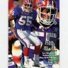 1995 Fleer Football #036 Mark Maddox RC - Buffalo Bills