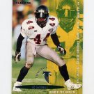 1995 Fleer Football #022 D.J. Johnson - Atlanta Falcons