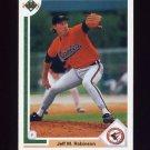 1991 Upper Deck Baseball #796 Jeff M. Robinson - Baltimore Orioles