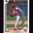 1991 Upper Deck Baseball #788 Juan Agosto - St. Louis Cardinals