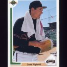 1991 Upper Deck Baseball #778 Dave Righetti - San Francisco Giants