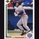 1991 Upper Deck Baseball #747 Pete Incaviglia - Detroit Tigers
