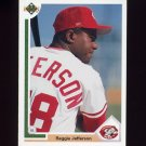 1991 Upper Deck Baseball #746 Reggie Jefferson - Cincinnati Reds