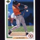 1991 Upper Deck Baseball #745 Luis Mercedes RC - Baltimore Orioles