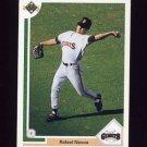 1991 Upper Deck Baseball #674 Rafael Novoa RC - San Francisco Giants