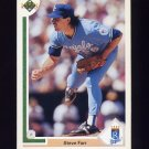 1991 Upper Deck Baseball #660 Steve Farr - Kansas City Royals