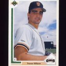 1991 Upper Deck Baseball #653 Trevor Wilson - San Francisco Giants